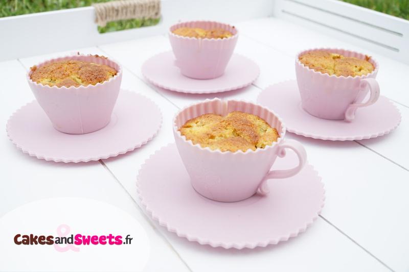 Muffins Rhubarbe Mascarpone