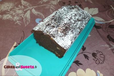 Cake au Cacao et Chocolat blanc
