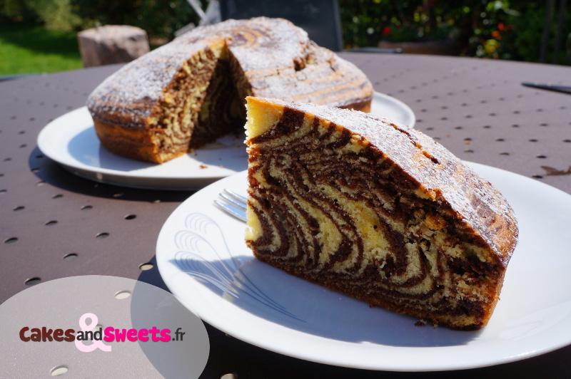 Gâteau Zebré