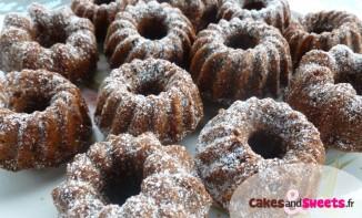Mini Kouglofs tout Chocolat