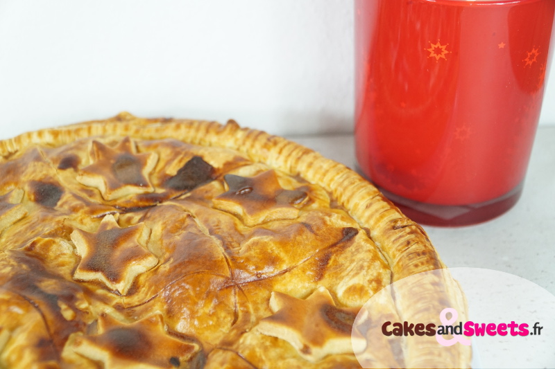 Galette des Rois Pommes Caramel