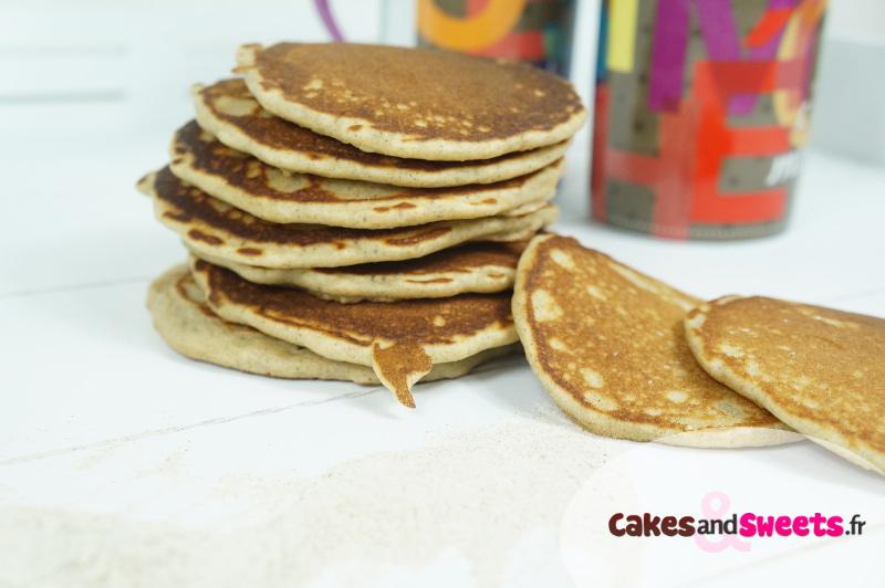 Pancakes Farine de Blé Noir
