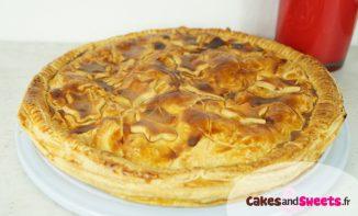 Galette pommes caramel beurre salé