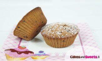 Muffins Chocolat au lait Noisettes