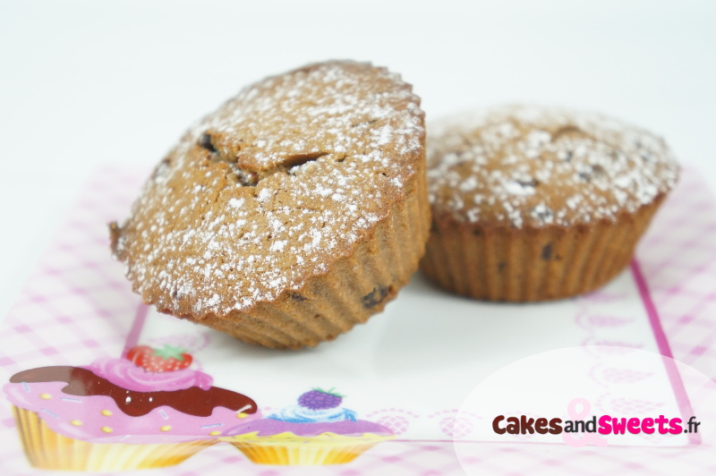 muffins chocolat au lait noisettes cakesandsweets fr