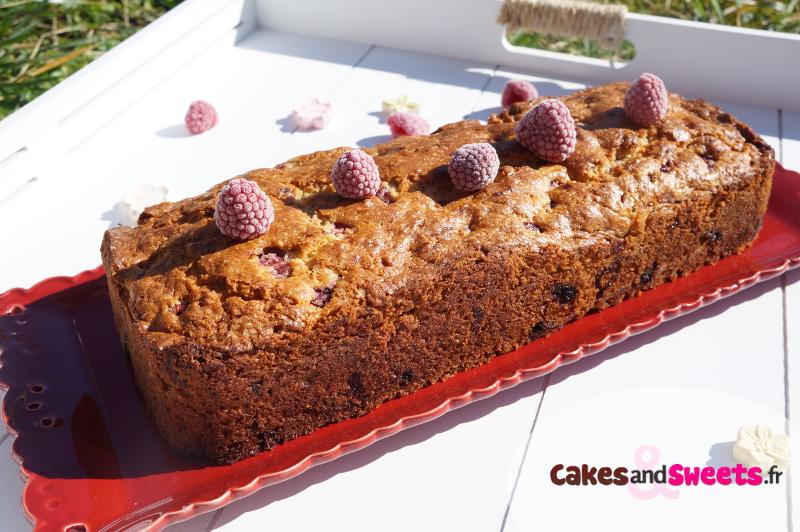 Cake Banane Framboise
