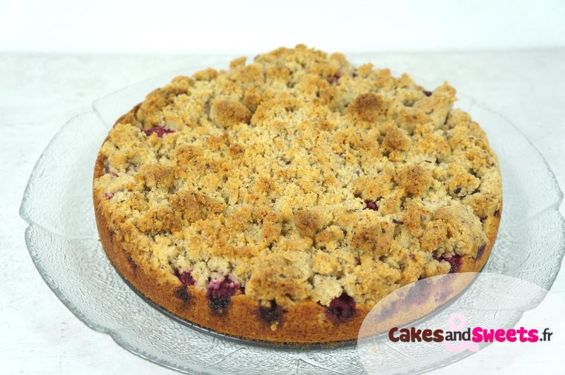 Crumb Cake Framboises Yuzu