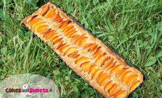Tarte aux Abricots Crème Amande