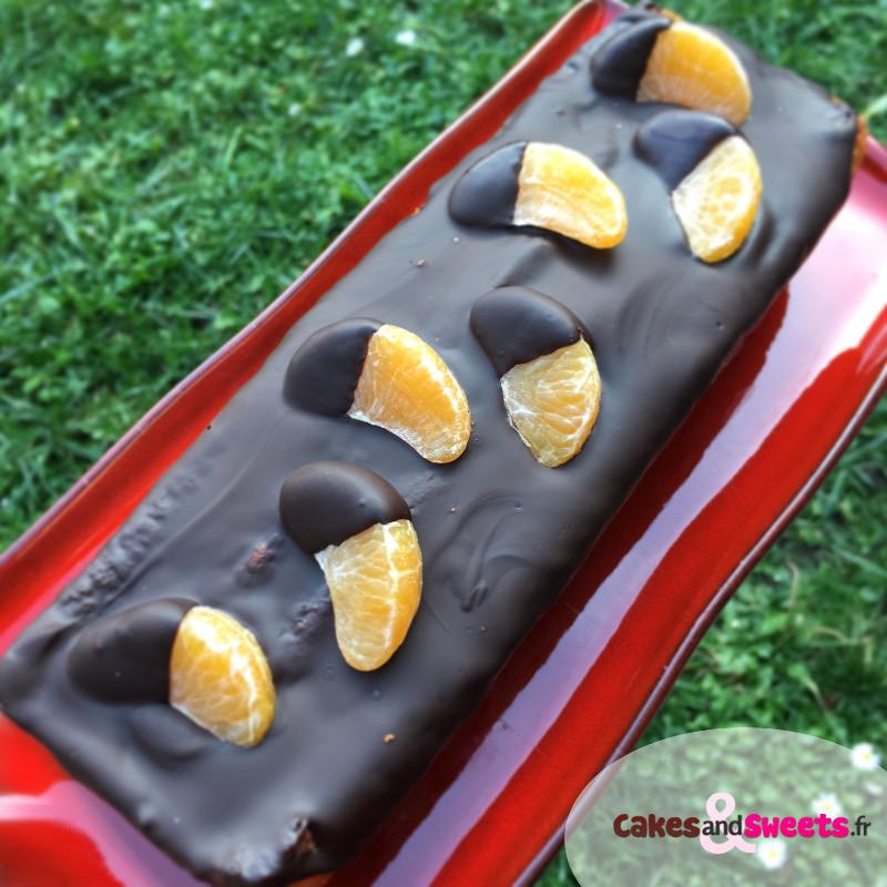 Cake Mandarine Chocolat