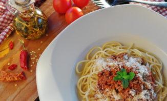Les spécialités italiennes : Tiramisu, Spaghetti Bolognaise …